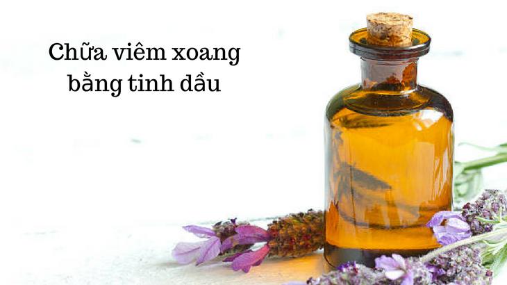 Cách chữa trị viêm xoang hiệu quả bằng tinh dầu