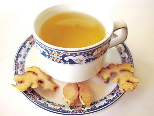 Cách chữa trị viêm xoang với trà gừng hiệu quả